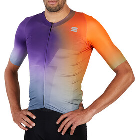 Sportful Bomber Jersey Men, orange violet